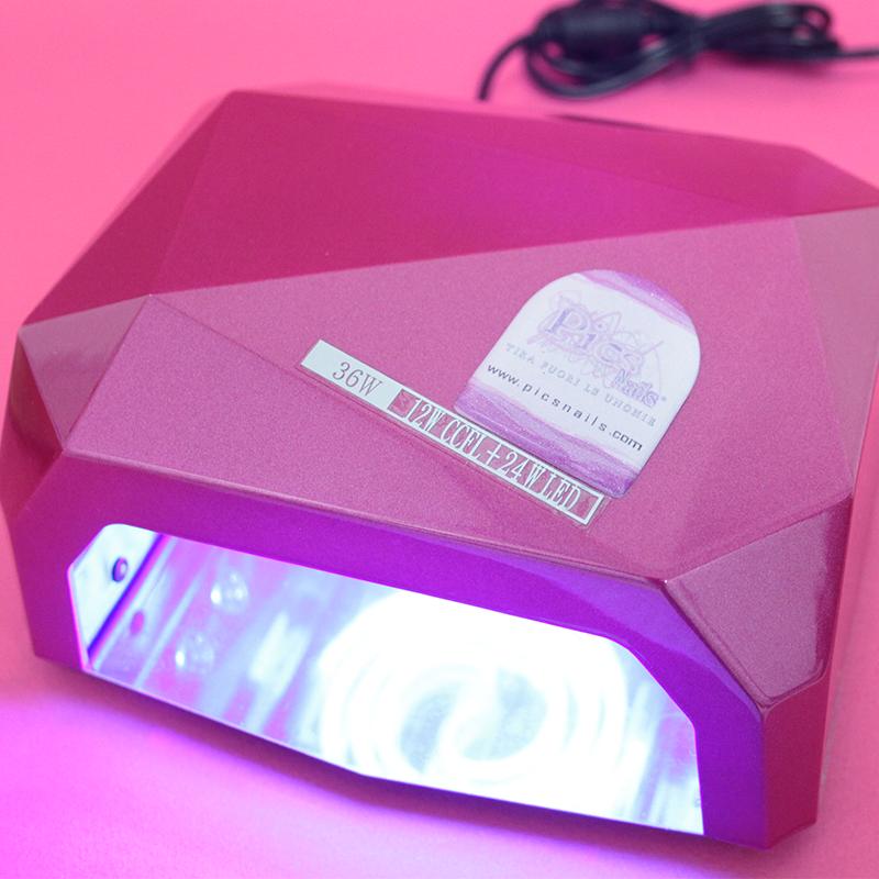 qual è la differenza tra lampada uv e lampada led? | pics nails