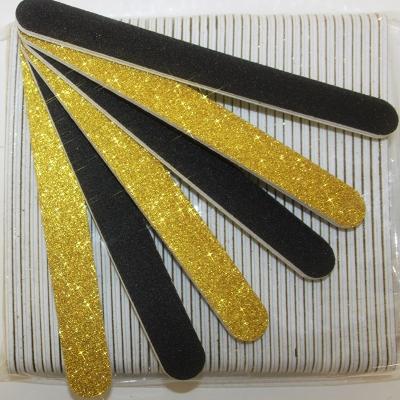 Lima per Unghie Glitter Oro 240