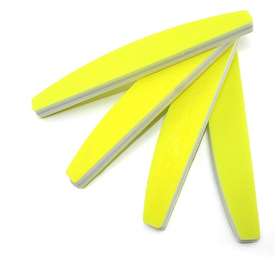 Lima per Unghie Levigante Giallo Neon
