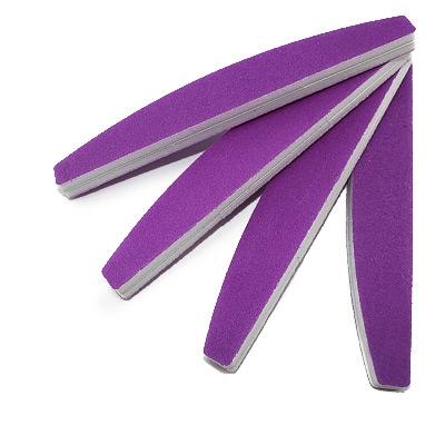 Lima per Unghie Levigante Viola Neon
