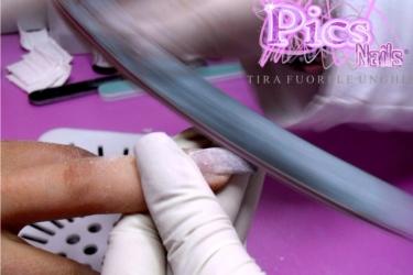limatura bombatura unghie gel