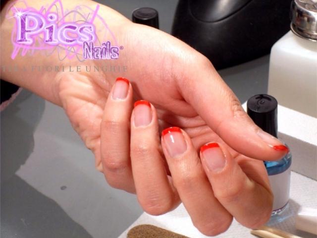 Manicure e French Rossa