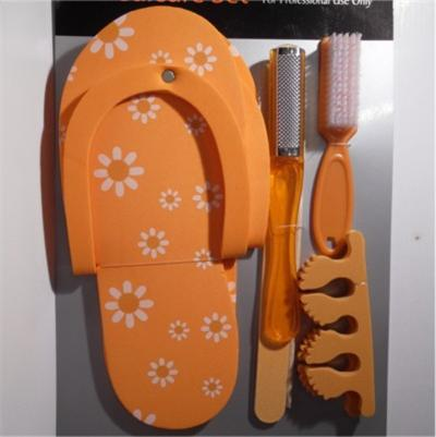 Manicure e Pedicure Set Arancio