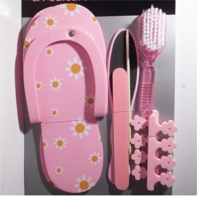 Manicure e Pedicure Set Rosa