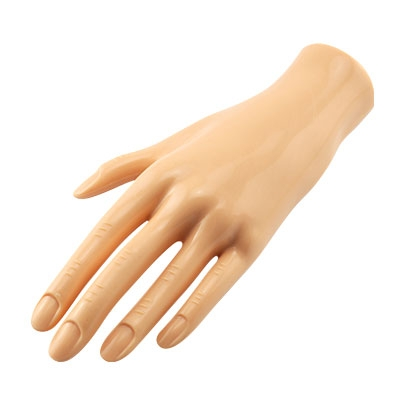 Mano Pratica per esercitarsi con la ricostruzione unghie gel o acrilico