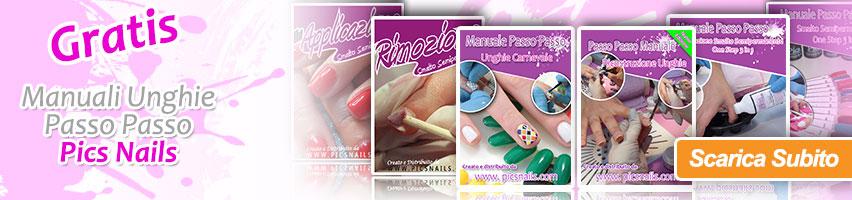 Scarica Gratuitamente i Manuali Passo Passo per Unghie Pics Nails !