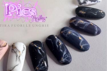 Matte Marble Nails Un Nuovo Passo Passo Pics Nails Pics Nails