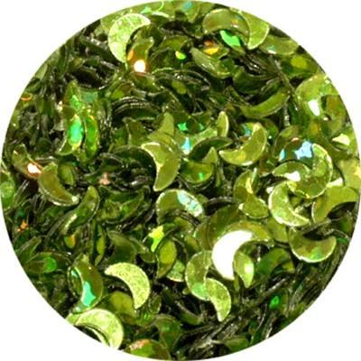 MezzeLune Verde Olografic