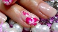 micro decorazione unghie fiori