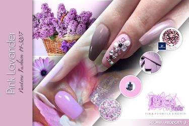 Moda Unghie Primavera Rosa Lavanda
