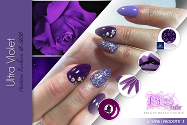 Moda Unghie Ultra Violet Primavera Estate 2018