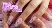 Nail_Art_con_Fiori_e_Glitter