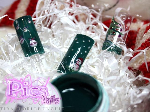 Nail Art Decorazione di Natale