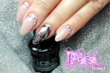 Tendenze unghie capodanno le nail art perfette per te pics nails - Polvere effetto specchio unghie ...