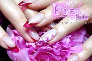 nail art floreali pics nails