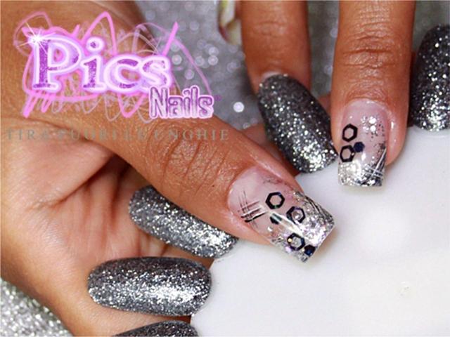 Nail Art Grigio