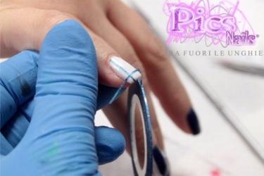 Nail Art Semplici con Strisce Adesive