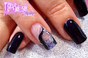 nail art sottovetro pics nails