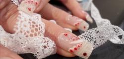 Nails Decoration with Underglass Technique