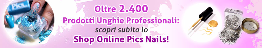 Scopri i Prodotti per Unghie Professionali nel Catalogo Online Pics Nails