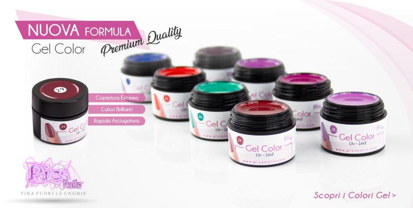 NUOVA FORMULA Gel Color Linea Premium. Scopri i Colori