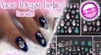 Nuovi Adesivi Unghie Natalizi Pics Nails