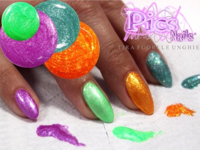 Nuovi Colori Gel Glitter Estate
