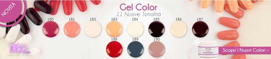 Scopri i Nuovi Gel Colorati Pics Nails! 11 Nuove Tonalità per le tue Unghie