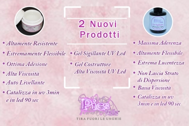 nuovi gel costruttore uv led e gel sigillante uv led pics nails