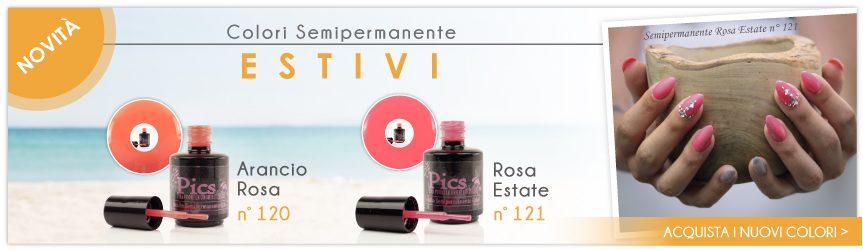 Nuovi Colori Semipermanenti Estivi Pics Nails