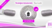 Nuovo Colore Smalto Semipermanente Alice Lilla Boreale 110