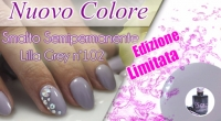 Nuovo Smalto Semipermanente Lilla Grey Pics Nails