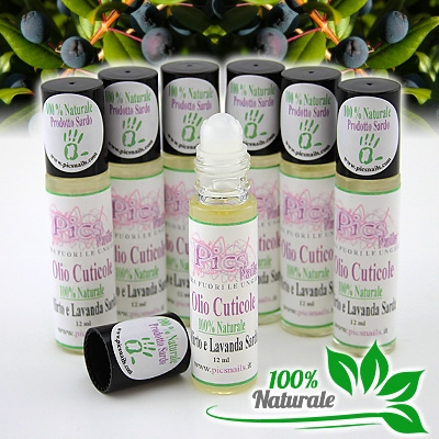 Olio Cuticole Mirto e Lavanda Roll On 100 Naturale