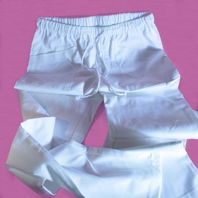 Pantalone Bianco Pics Nails