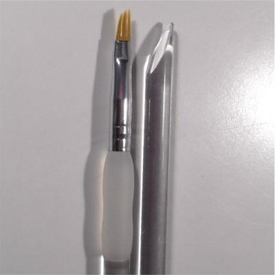 Pennello Ricostruzione Unghie Forchetta 4 mm