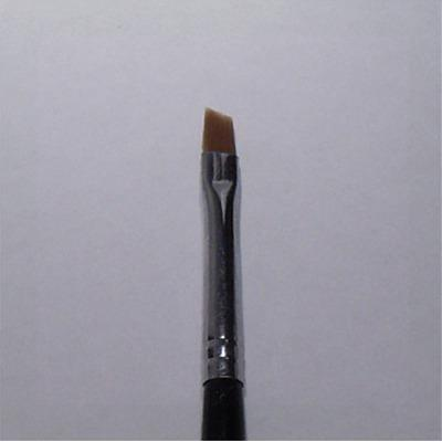 Pennello Ricostruzione Unghie Gel Punt Obliqua 3mm