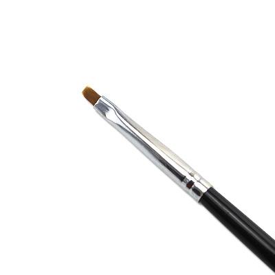 Pennello Ricostruzione Unghie Gel Nero 1mm