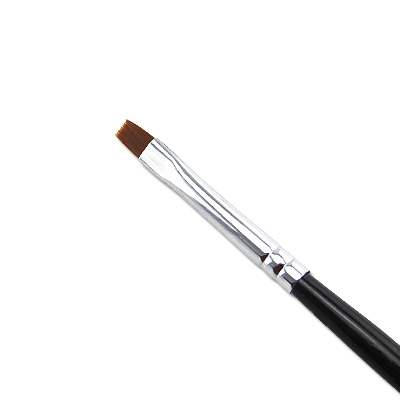 Pennello Ricostruzione Unghie Gel Nero 3mm