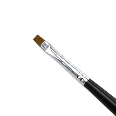 Pennello Ricostruzione Unghie Gel Nero 4mm