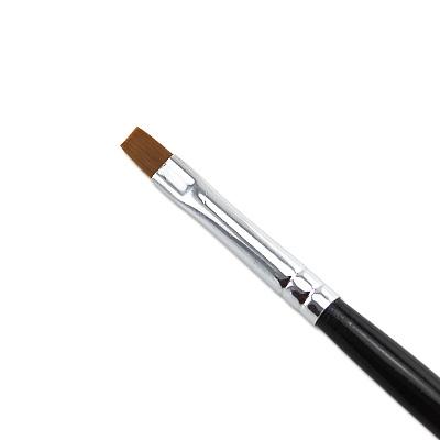 Pennello Ricostruzione Unghie Gel Nero 5mm