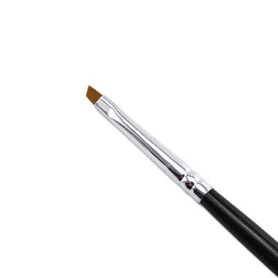 Pennello Ricostruzione Unghie Gel Punt Obliqua 1mm