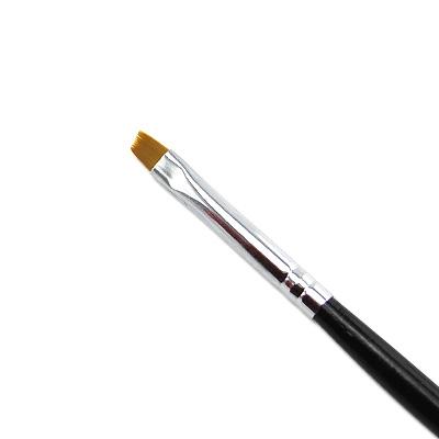 Pennello Ricostruzione Unghie Gel Punt Obliqua 2mm