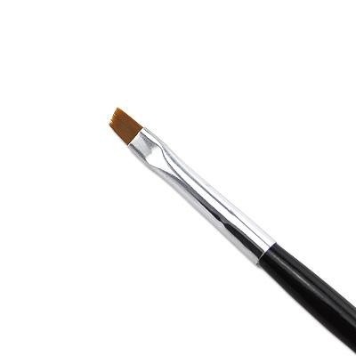 Pennello Ricostruzione Unghie Gel Punt Obliqua 4mm