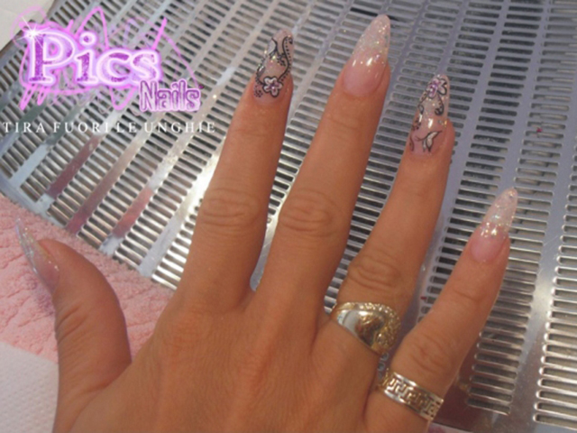 Pointy Nail Tips Picture | Pics Nails