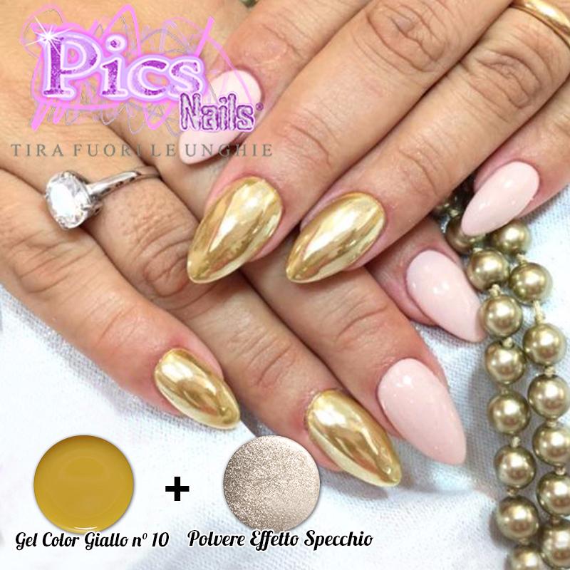 Polvere effetto specchio pics nails - Polvere effetto specchio unghie ...