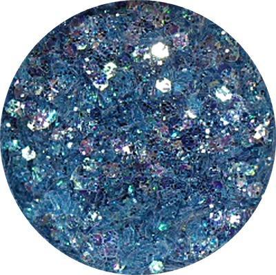 Polvere Extra Glitter Azzurro Mare