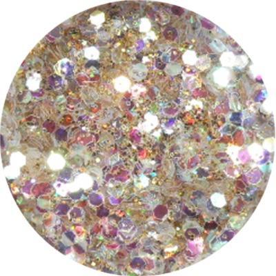Polvere Extra Glitter Oro Chiaro