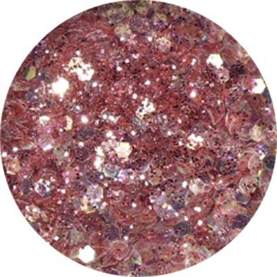 Polvere Extra Glitter Rosa Antico
