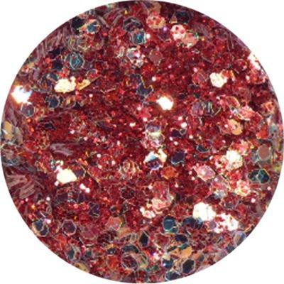 Polvere Extra Glitter Rosso Scuro