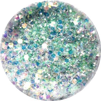 Polvere Glitter Extra Verde